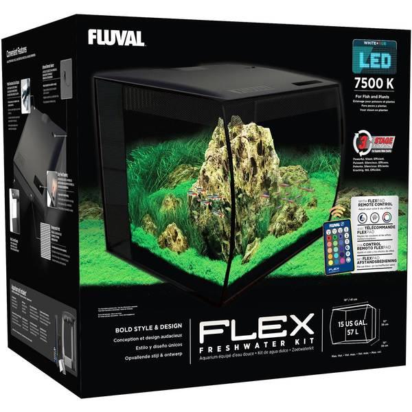 Bilde av Fluval Flex 57 liter - Svart