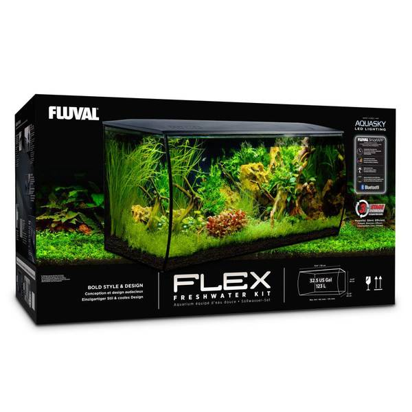 Bilde av Fluval Flex 123 liter - Hvit