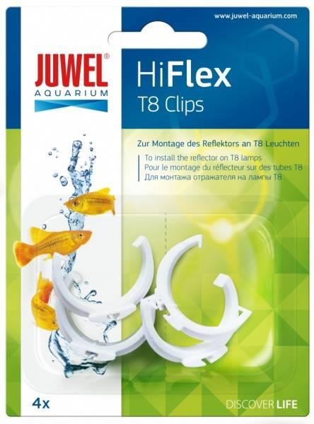 Bilde av Juwel HiFlex T8 Clips Reflektor 4pk