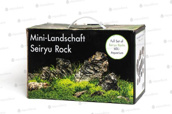 Bilde av Aquadeco rock box mini landscape 60L