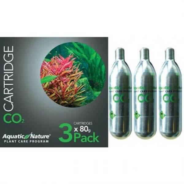 Bilde av Aquatic Nature CO2 BOTTLE 80 gr 3pk