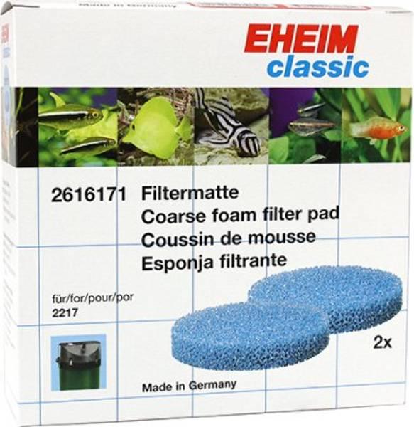Bilde av EHEIM  CLASSIC 600 FILTER BLÅ 2217 2pk