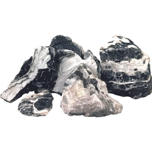 Bilde av Flerlags sten, sort/hvit