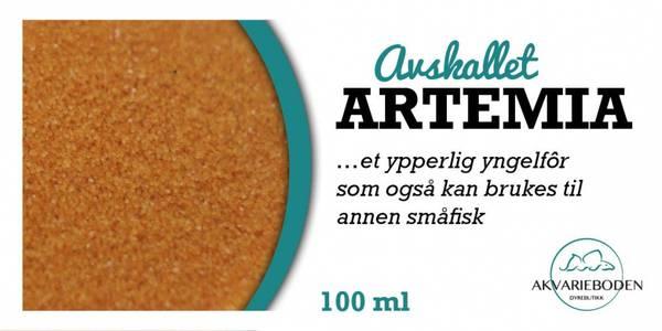 Bilde av Avskallet Artemia 60gram /100ml