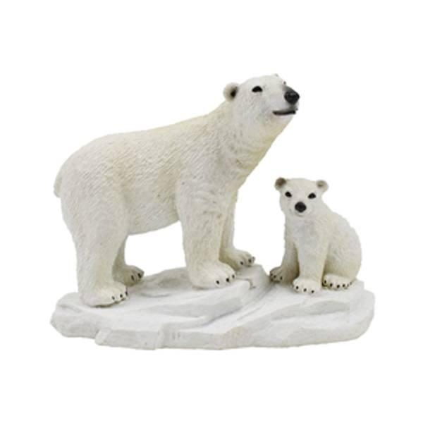 Bilde av  Polar Bears 13X7x10cm