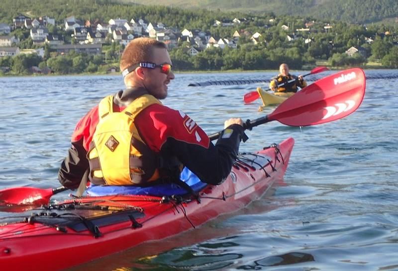 Padlekurs kajakk Tromsø