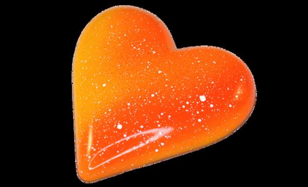 Bilde av Hjerte fylt med nougat