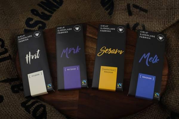 Bilde av 4 pakk sjokoladeplater