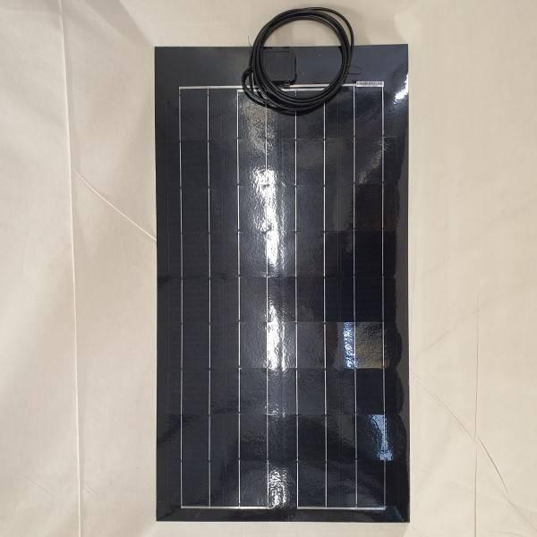 Bilde av 80Watt Fleksibelt solcellepanel supertynt