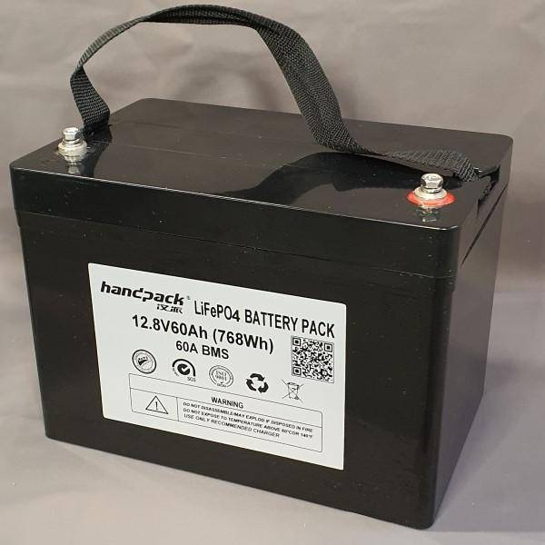 Bilde av Litium batteri 12Volt-60Ah 250x160x188mm 7,2kg