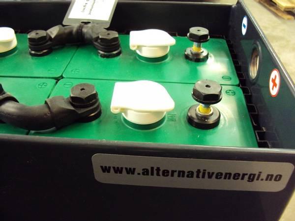 Bilde av Hoppecke 930Ah 2Volt 6stk batteripakke