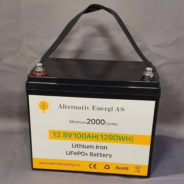 Bilde av Litium batteri 12Volt-100Ah