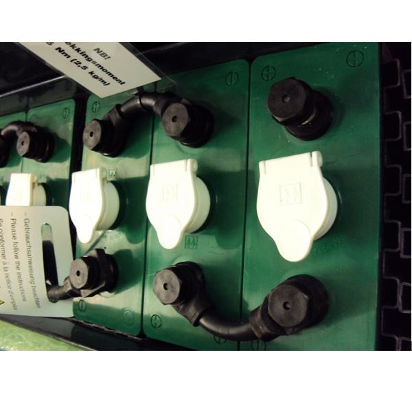 Bilde av Hoppecke 500Ah 2Volt 6stk batteripakke