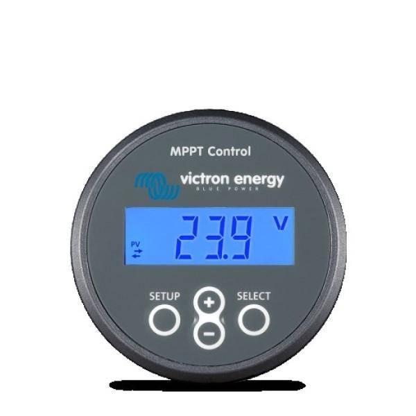 Bilde av Victron MPPT control display