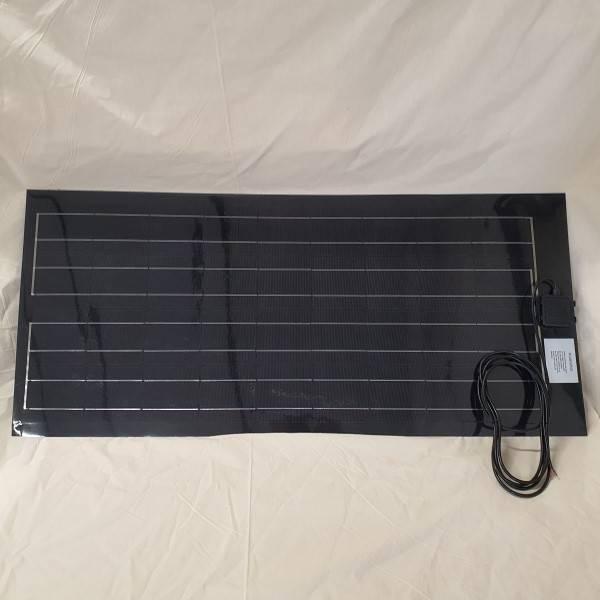 Bilde av 100Watt fleksibelt solcellepanel 57x128cm