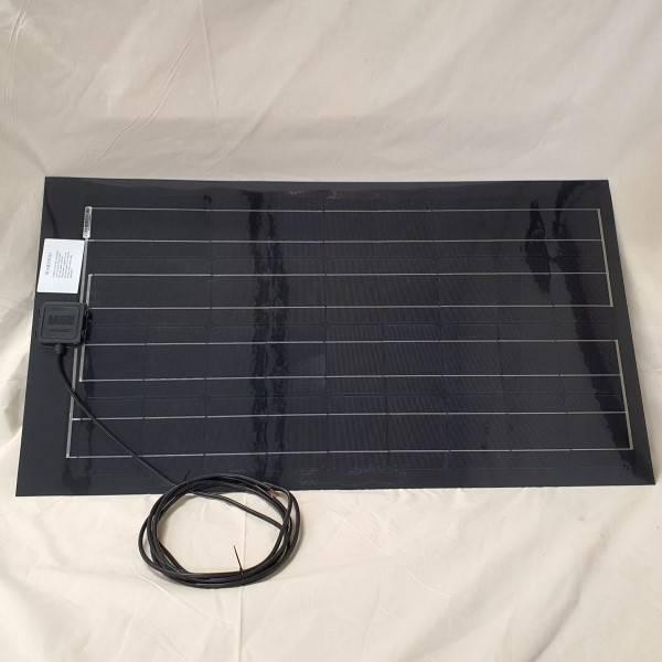 Bilde av 80Watt fleksibelt solcellepanel 57x105cm