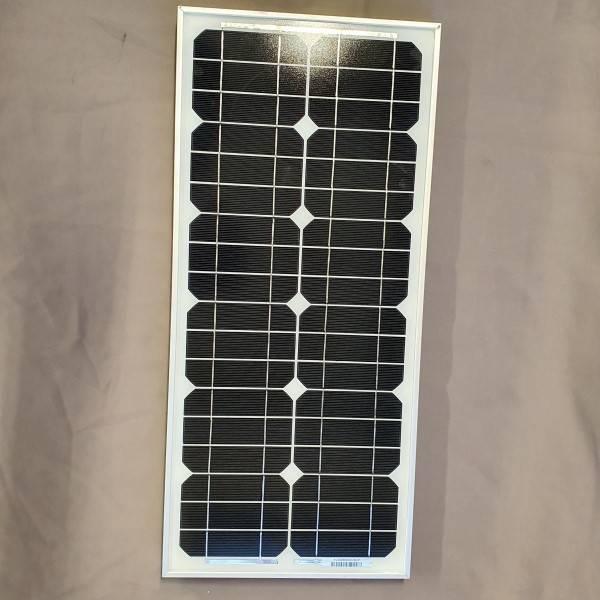 Bilde av 25W Sunel solcellepanel 29x64cm