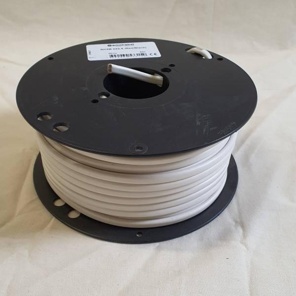 Bilde av Kabel 2x2,5mm2, hvit