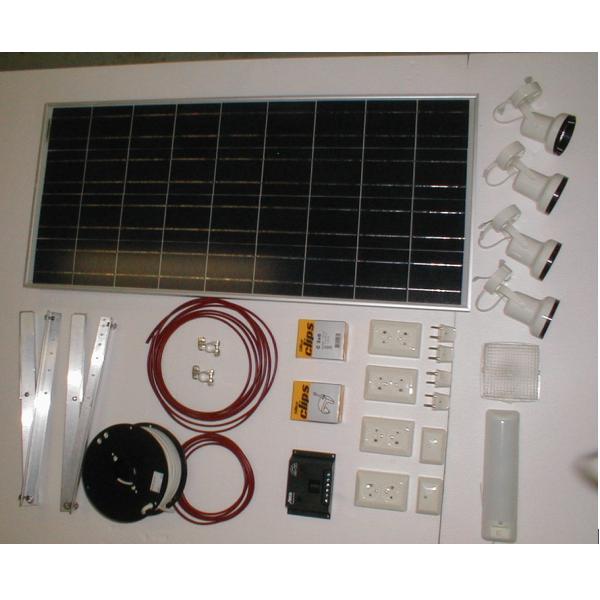 Bilde av Solcelleanlegg 110W Sunel u/batteri