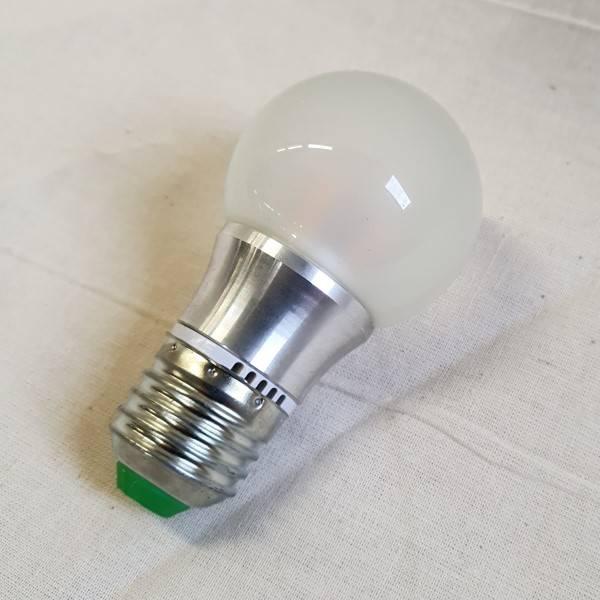 Bilde av LED lyspære 12V 5W Frost Varmhvit E-27 sokkel