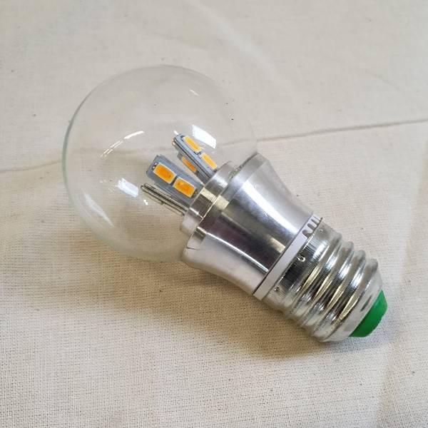 Bilde av LED lyspære 12V 5W Klar Varmhvit E-27 sokkel