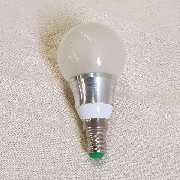 Bilde av LED lyspære 12V 5W Frost Varmhvit E-14 sokkel