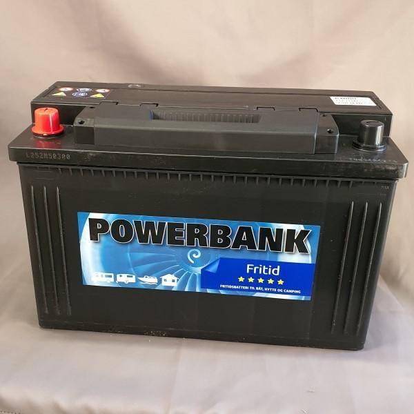 Bilde av Powerbank 115Ah Fritidsbatteri L=35, H=23,