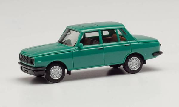 Wartburg 353, retrogrønn (år 1984)