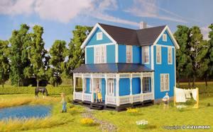 Bilde av Svensk bolighus, blått