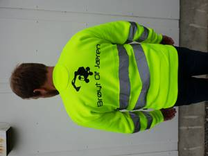Bilde av Signalfarget genser, str