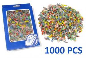 Bilde av 1000 malte figurer,