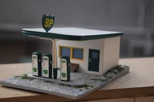 Bilde av BP Bensinstasjon