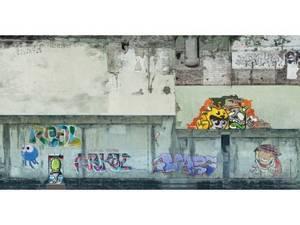 Bilde av Betongvegg m/graffiti