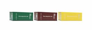 Bilde av 20 fot containere 3stk