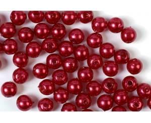 Bilde av Voksperler rød 5mm 50g