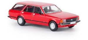 Bilde av Ford Granada 2, rød