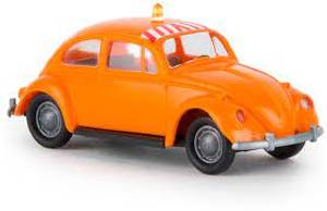 Bilde av VW Boble, oransje