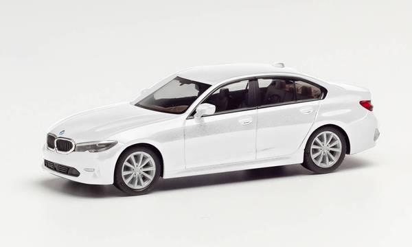 BMW 3er, Limo, hvit