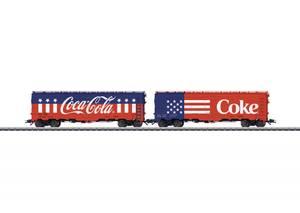 Bilde av Coca Cola kjølevogner