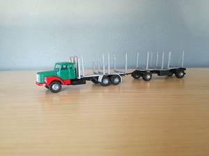 Bilde av Scania 111 Tømmerbil
