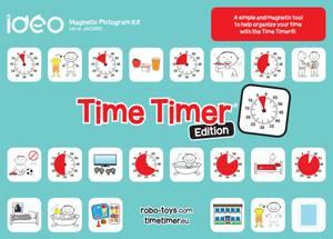 Bilde av Time Timer - magnetisk piktogram sett
