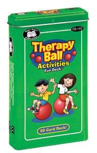 Bilde av Aktivitetskort til terapiball