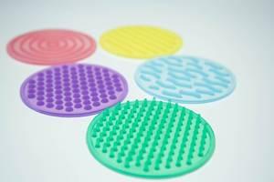 Bilde av Sili-sirkler sensorisk lek