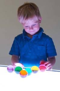 Bilde av Kuler med farge 8 stk