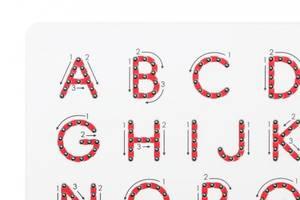 Bilde av Magnatab store bokstaver
