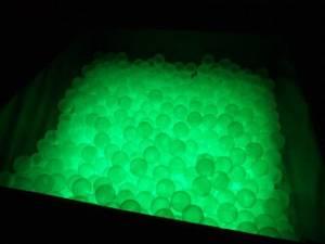Bilde av Ballbasseng med lys
