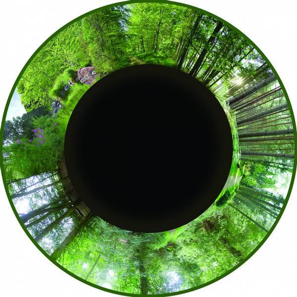 Solar max effekthjul forest
