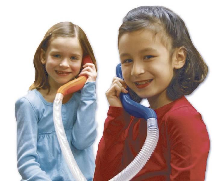 Hviske telefon - duett