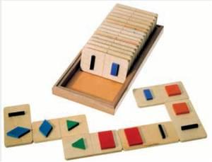 Bilde av Domino former