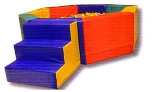 Bilde av 8-kantet ballbaseng